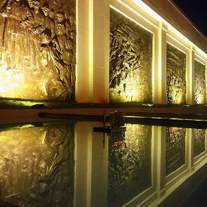 博物馆丨贵阳观山湖区反腐倡廉主题馆室外铸铜浮雕