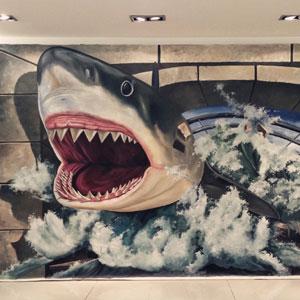 3D创意壁画丨墙体彩绘