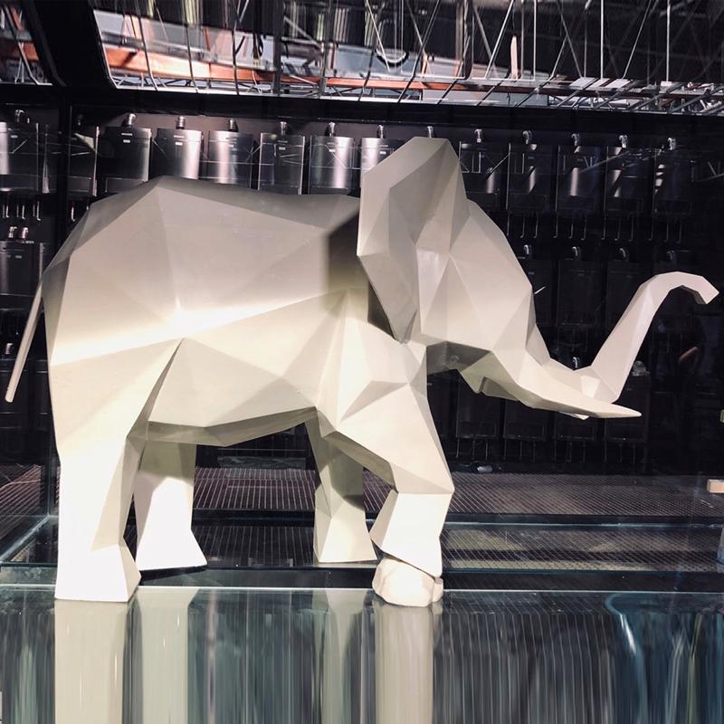 大象造型摄影道具丨泡沫万博官网电脑版登录